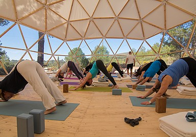 Yoga & Meditation holiday at MasQi in Spain, offered by SIS Spa in Spain