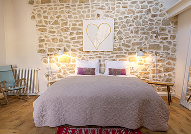 friendly, tastefully decorated rooms at The Pink Pepper Tree Wellness hotel in Spain