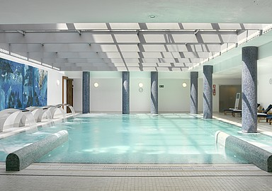 Wellness Hotel Blancafort Spa Termal in Spain offers a thermal water Spa
