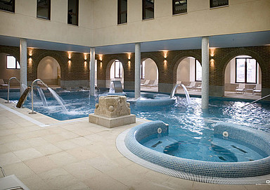 Thermal water spa breaks in Villa de Olmedo Spa and Wellness Hotel, offered by SIS Spa In Spain