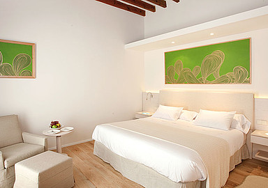 Font Santa wellness Hotel offers modern bright and very comfy rooms