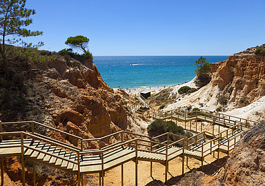 Stunning beaches at Wellness Hotel Epic Sana Algarve Hotel, Portugal