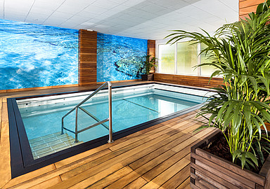 Indoor pool at GEM Wellness & Spa in Spain