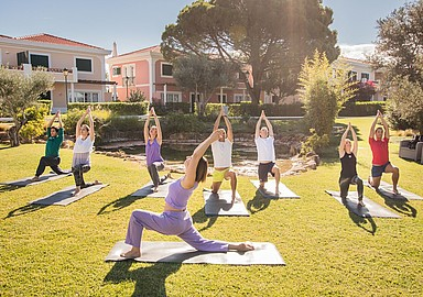 Yoga Holiday at Longevity Cegonha Country Club in Portugal, offered by SIS Spa In Spain