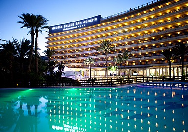 Thalasso Hotel Gloria Palace San Agustín by night, Tenerife, Spain, offered by SIS Spa In Spain