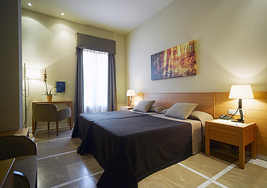 Superior Hotel room at Hotel Termas of Balneario de Archena in Spain