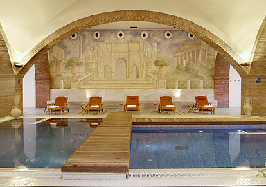 Thermal water Spa at Blancafort Spa Termal wellness hotel in Spain