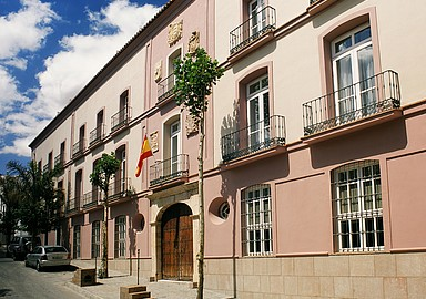 Frontage of Villa Padierna Termas Hotel in Carrataca Spain