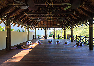 Yoga retreat at Shanti Som wellnes hotel Spain offered by Spa In Spain