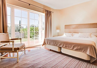 Comfortable rooms at Longevity Cegonha Country Club Wellness Hotel, Portugal
