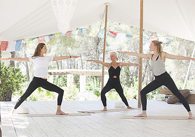 Spa In Spain offers Hatha Yoga program at Yoga Rosa Retreats, Ibiza