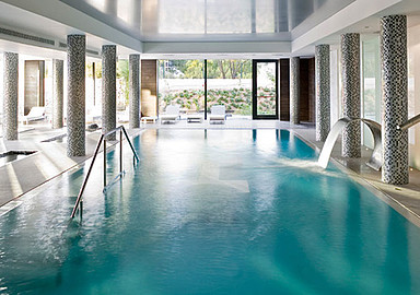 Water therapy during your healthy holiday at SHA Wellness Clinic in Spain