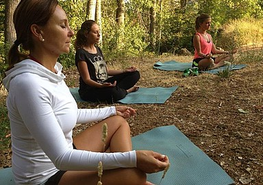 Feel the nature during a Yoga & Meditation class at MasQi offered by SIS Spa in Spain