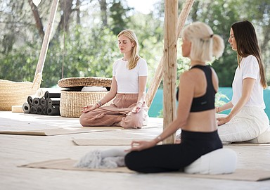 Healing Yoga and meditation retreat in Ibiza, offered by Spa In Spain