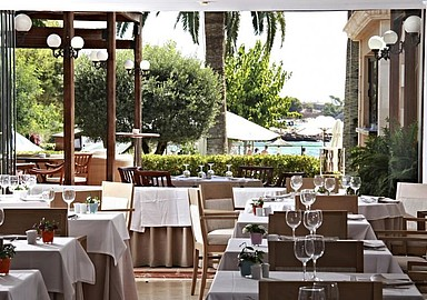 Restaurant at wellness Hotel Son Caliu & Spa Oasis, Spain