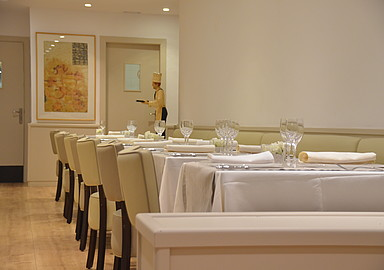 Healthy restaurant at GEM Wellness & Spa in Spain