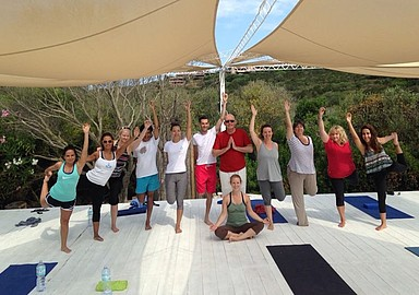 Yoga group holiday offered by Spa In Spain at Beach Front Yoga in Mallorca