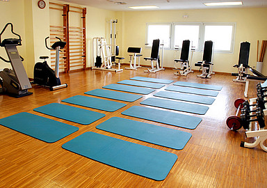 Fitness area at GEM Wellness & Spa in Spain