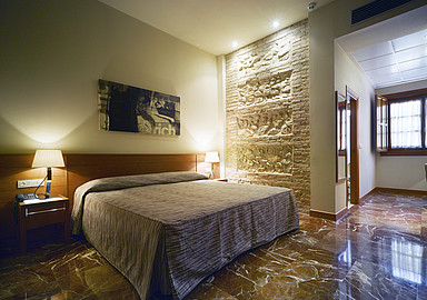 Hotel room at Wellness hotel Hotel Termas of Balneario de Archena in Spain