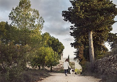 Go for a walk during your Yoga or Detox Retreat at MasQi in Spain