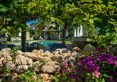 Feel the privacy and peaceful atmosphere at Es Cucons Hotel Rural