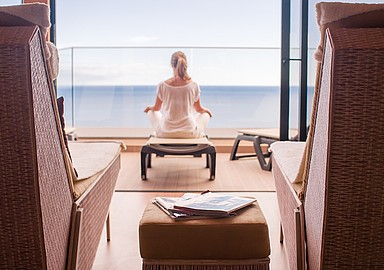 Yoga and Ayurveda holidays at Alpino Atlantico Hotel, Madeira, offered by SIS Spa In Spain