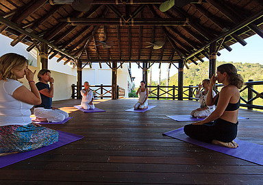 Yoga holiday at Shanti Som Wellbeing retreat in Spain, offered by Spa In Spain