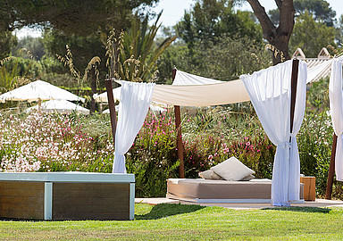 Complete privacy and time to relax during a wellness holiday at Font Santa Hotel, offered by Spa In Spain
