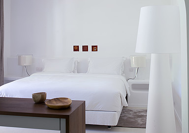 Comfortable rooms at Thalasso hotel Vilalara Longevity in Portugal