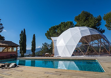 Yoga holidays at Masqi The Energy House retreat, offered by SIS Spa in Spain